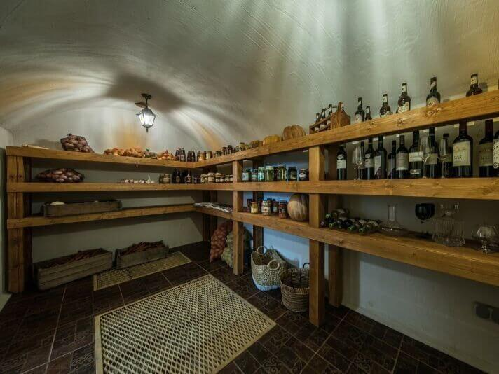 Classic country cellar