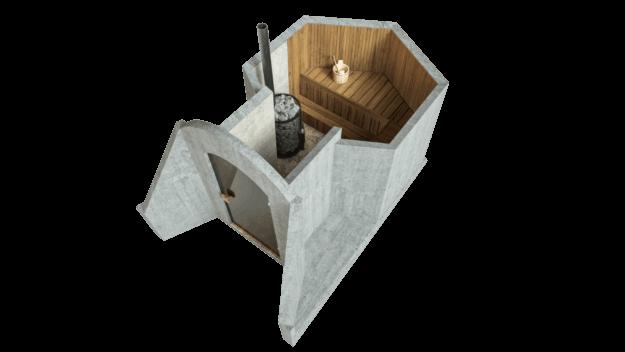 Saun 4,5 m² STANDARDPAKETT